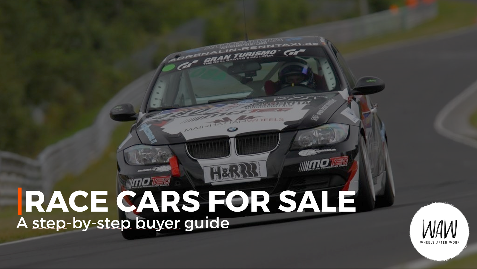 Race Cars for Sale - a step-by-step buyer guide